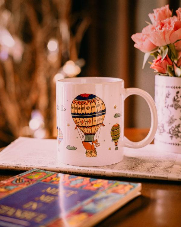 Caneca Balão Viajante - Café do Viajante