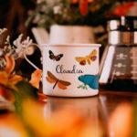 Caneca Personalizada: Borboletas - Café do Viajante
