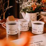 Canecas Destinos: Atacama, Paris e Curitiba - Café do Viajante