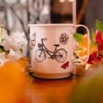 Caneca Bike - Vida é como andar de bicicleta