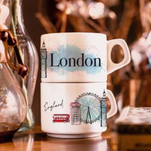 Xícara Londres - Café do Viajante