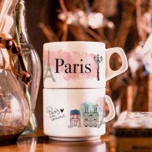 Xícara Paris - Café do Viajante
